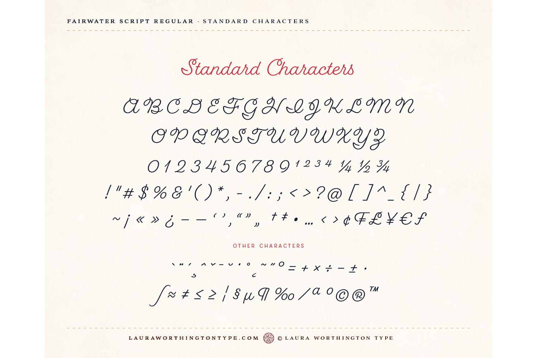 Fairwater Script Regular example image 8