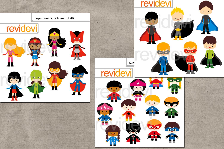 Superhero design bundle graphics and illustrations example image 2