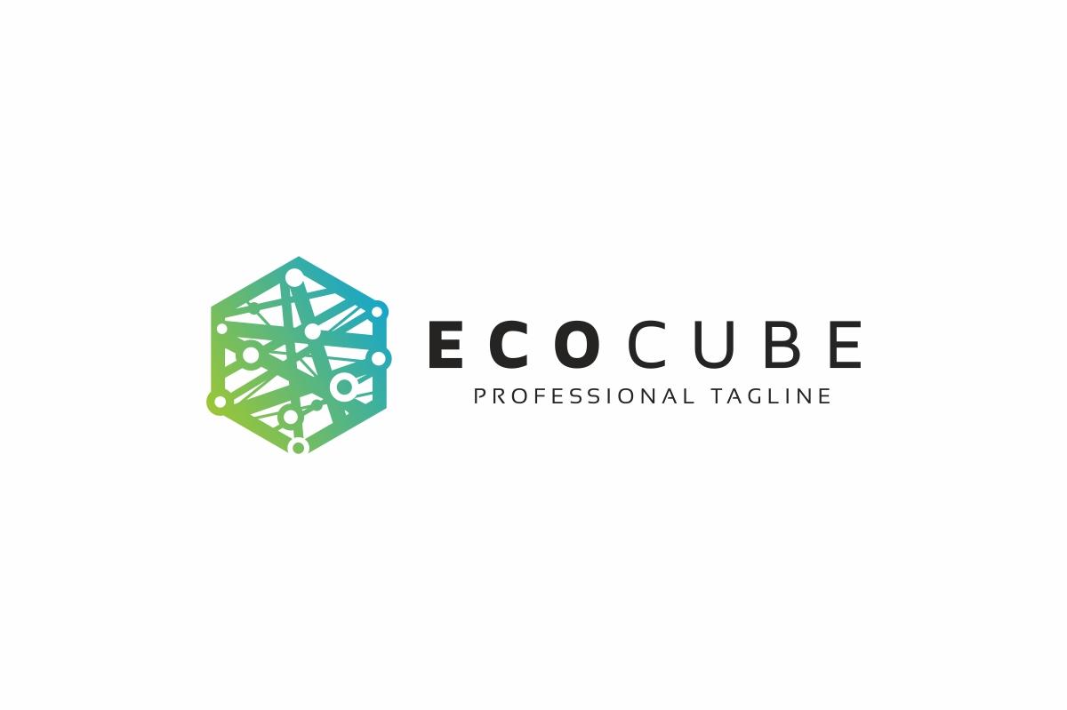 Eco Hexagon Logo example image 3