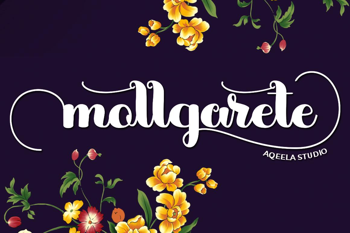 mollgarete Script example image 1
