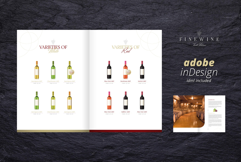 FINE WINE - Sales & Image Brochure example image 4