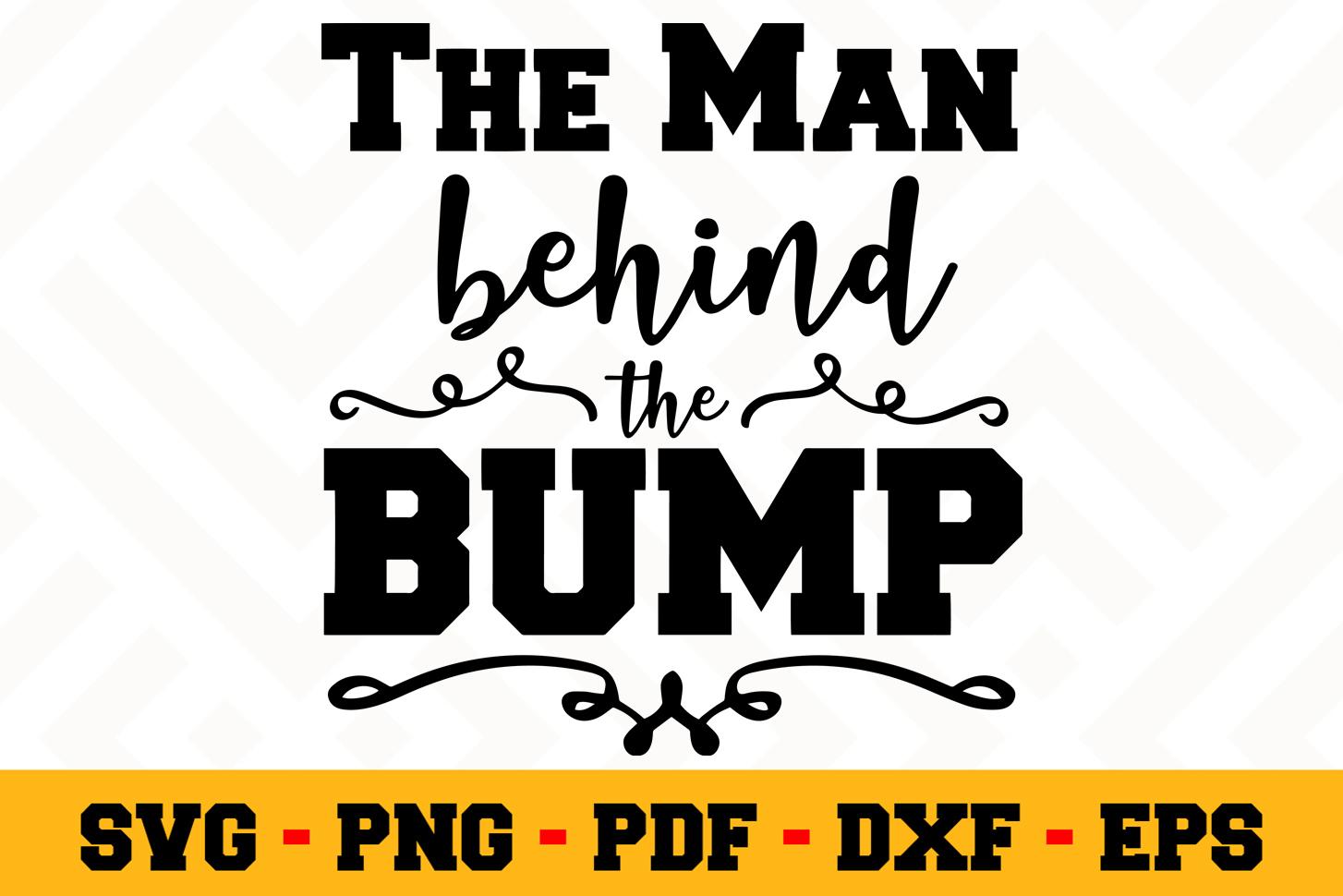 Pregnant SVG Design n547 | Pregnant SVG Cut File example image 1