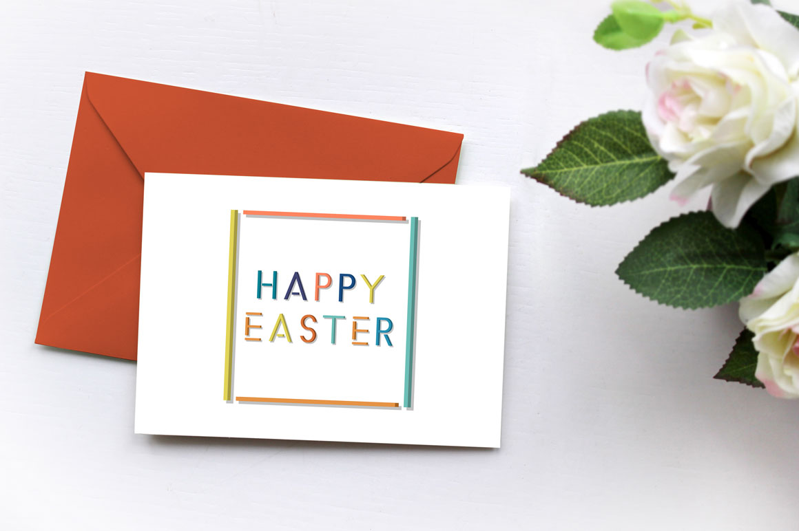 Holiday Greeting Easter Cards. example image 2