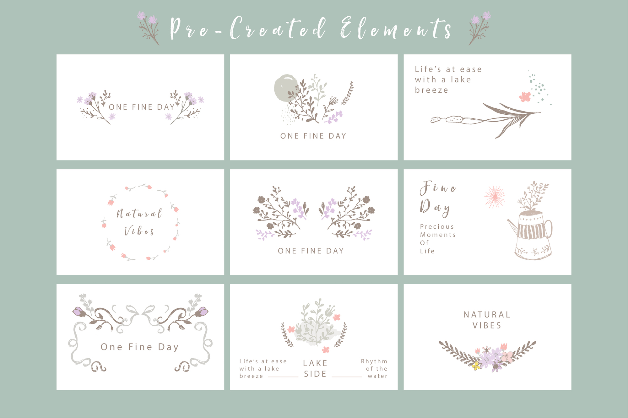 One Fine Day - Rustic Floral Design example image 4