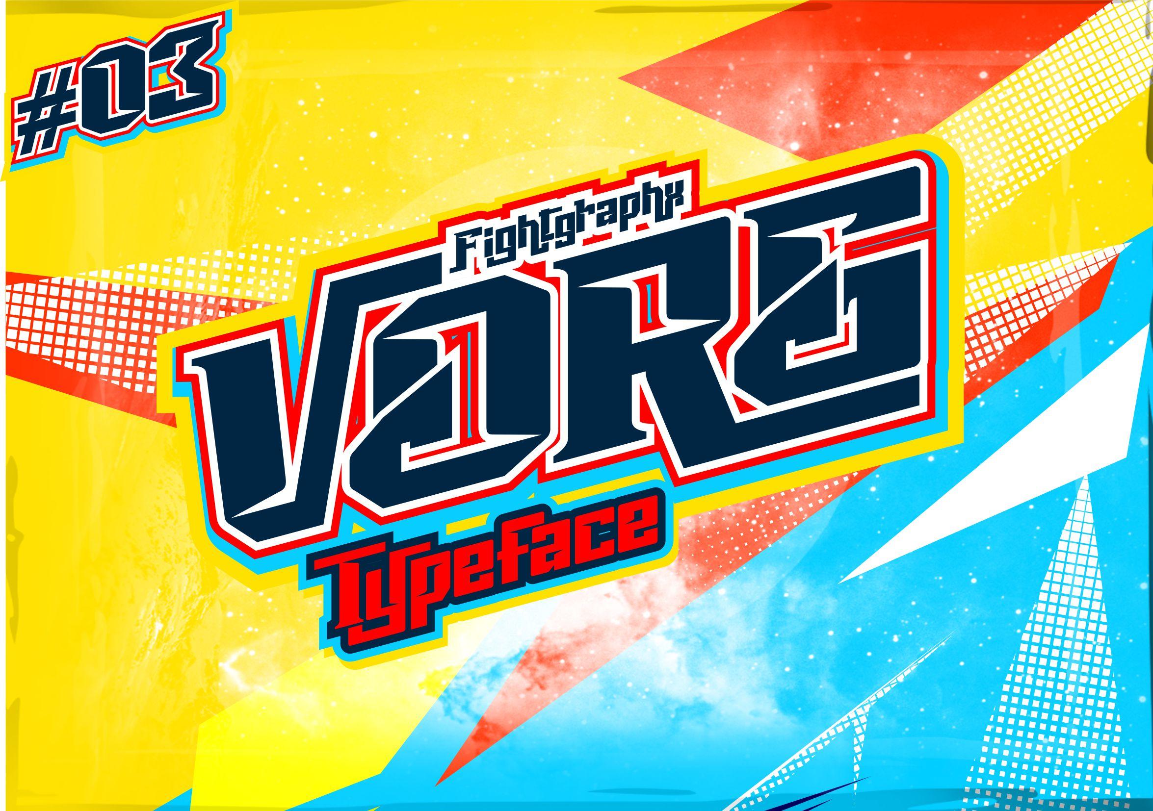 Vorg typeface example image 2