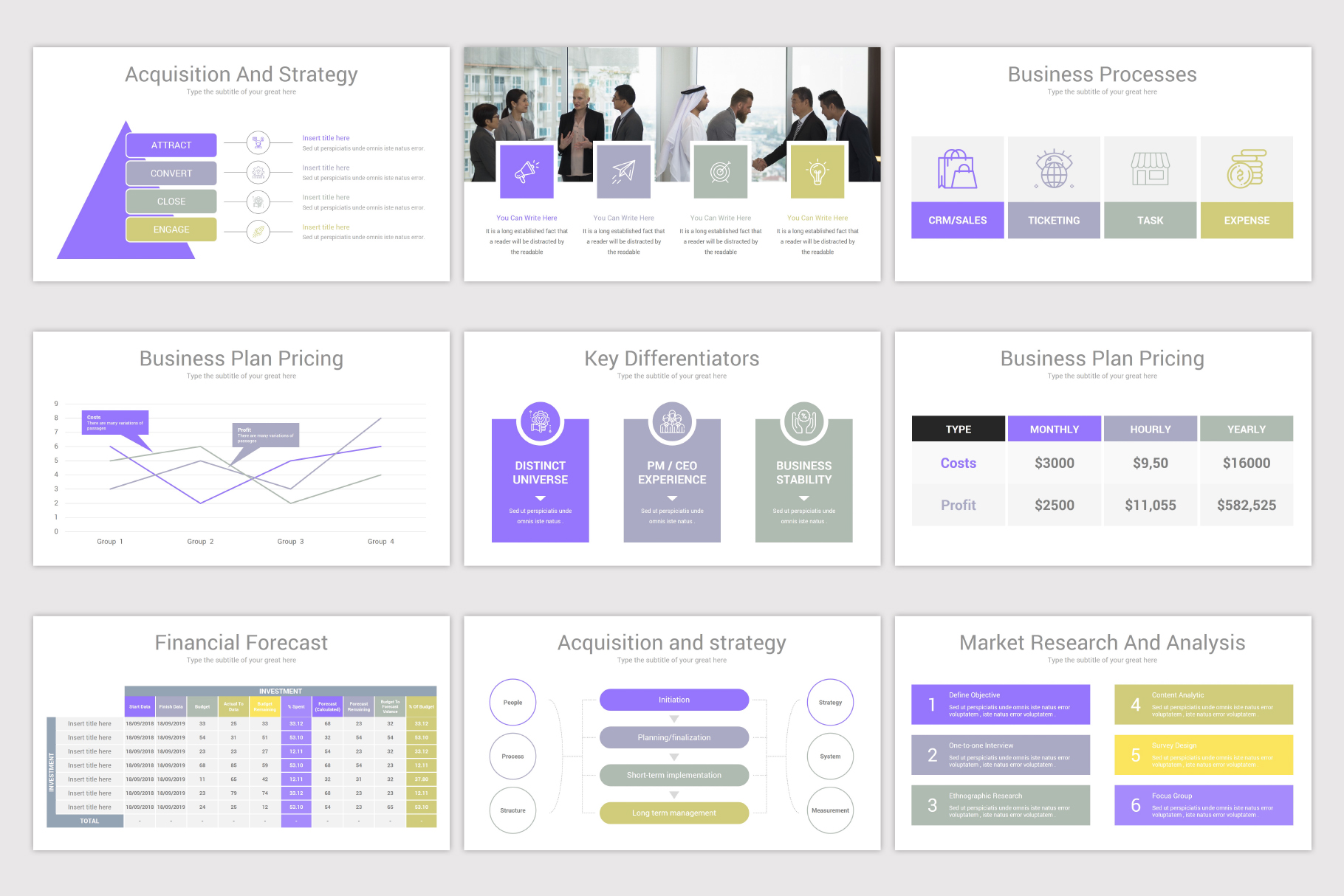 Company Profile Keynote Template example image 8