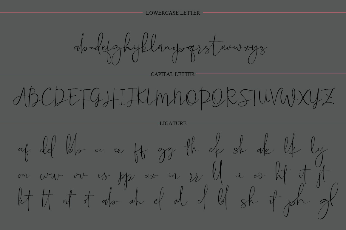 StreamPen Font example image 6