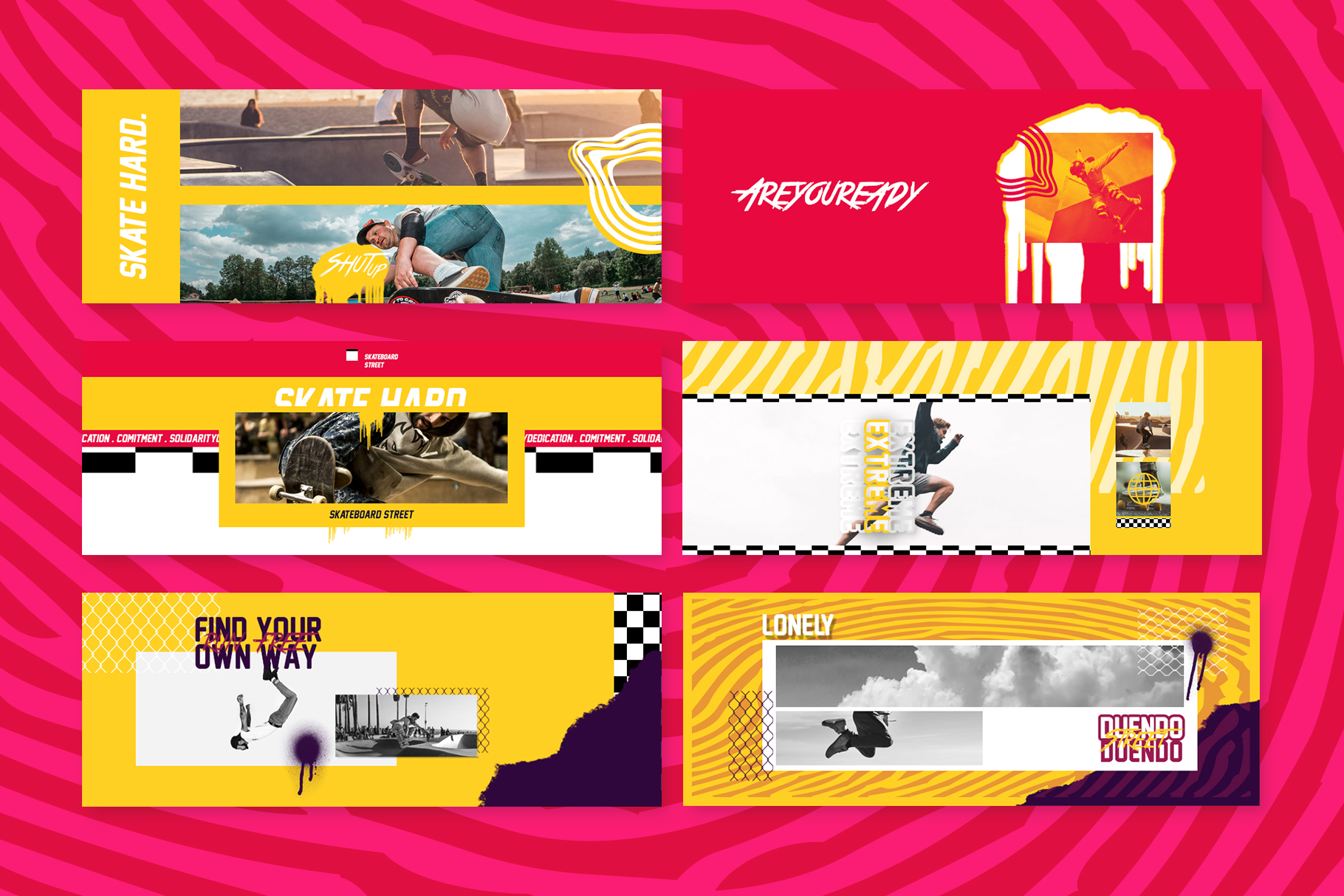 Skate Facebook Cover Templates example image 4