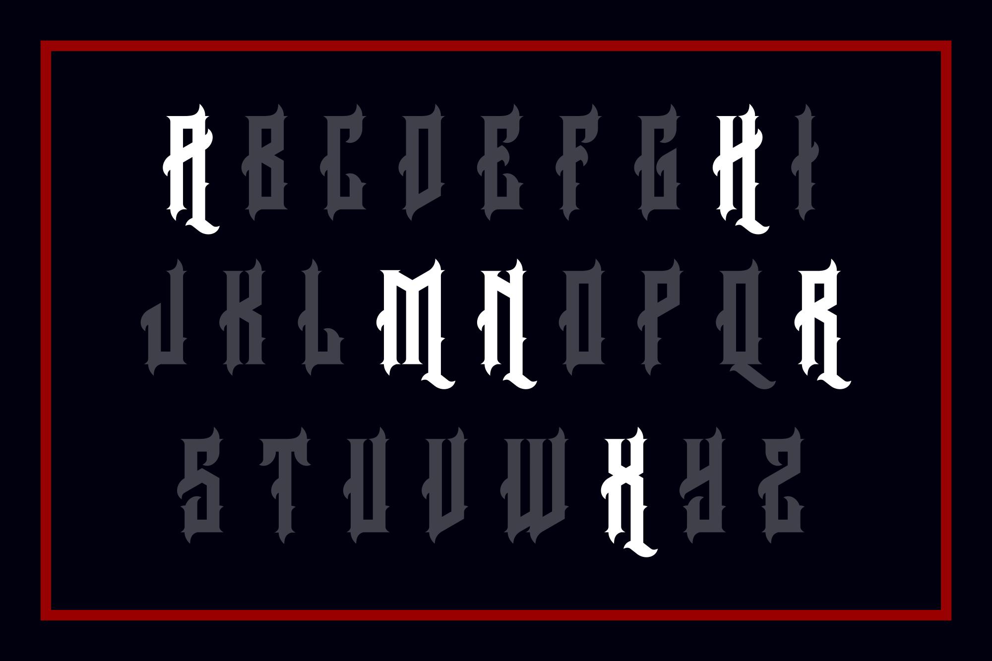 Arcana Typeface example image 4