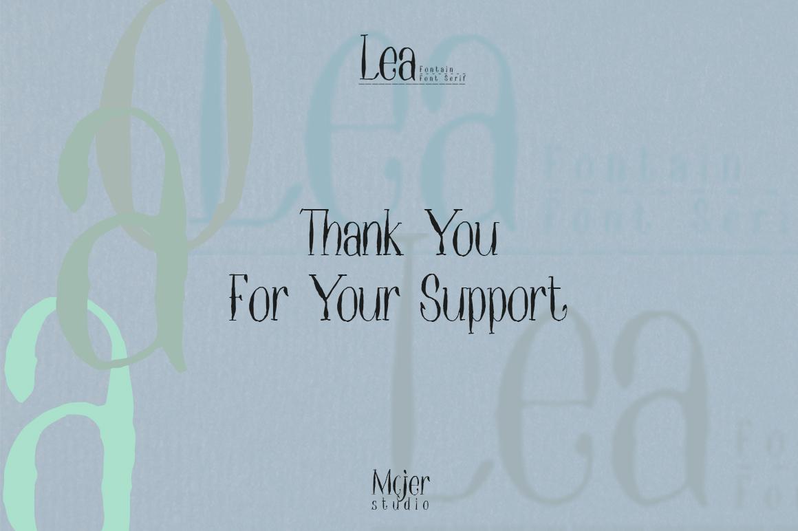 Lea Serif example image 7