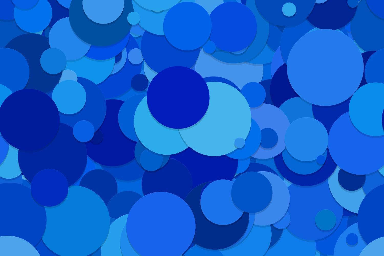 40 Seamless Circle Backgrounds (AI, EPS, JPG 5000x5000) example image 8