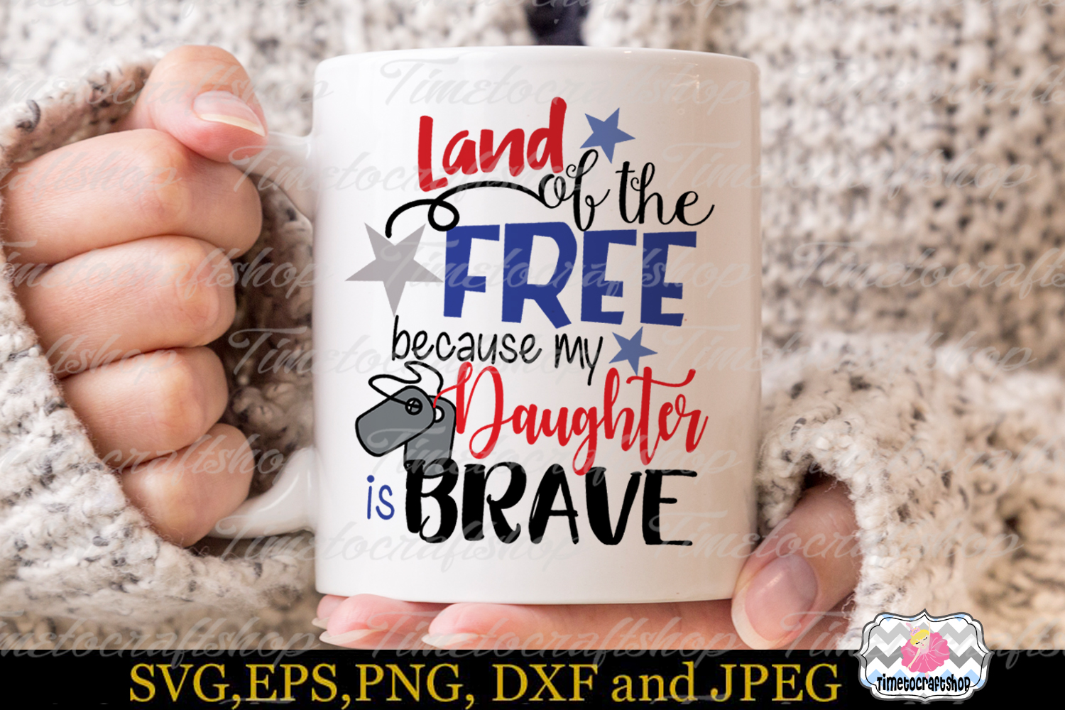 Land of the Free because My daughter is Brave example image 2