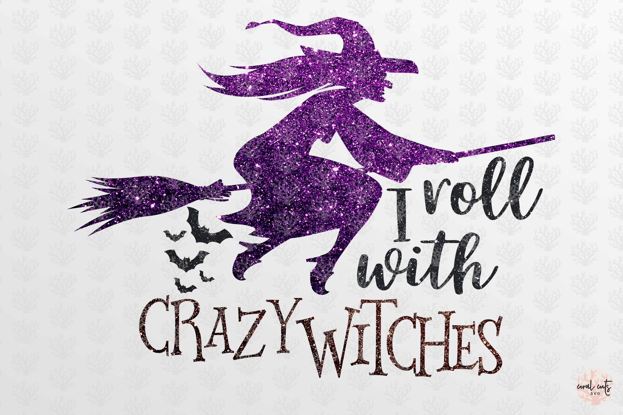 I Roll With Crazy Witches example image 2
