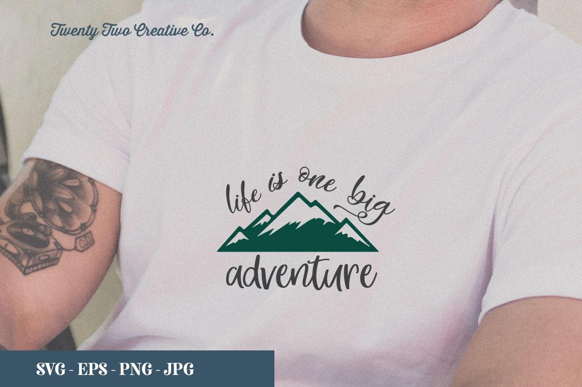 Camping SVG Bundle   SVG, EPS, PNG, JPG example image 10