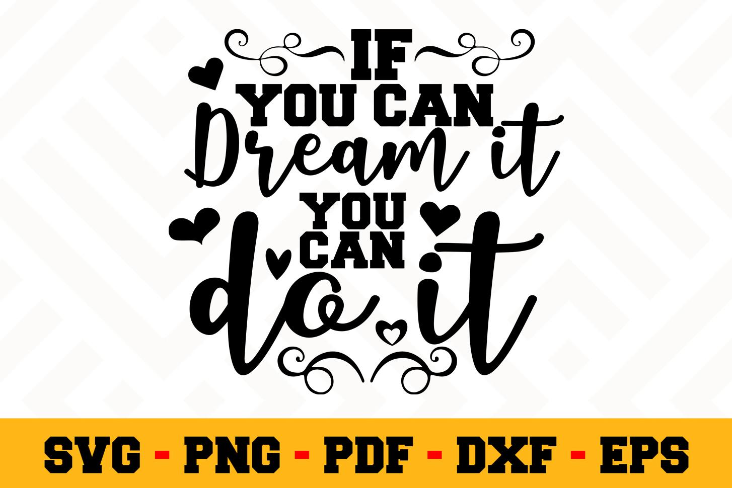 Motivation SVG Design n508 | Motivational Quote SVG File example image 1