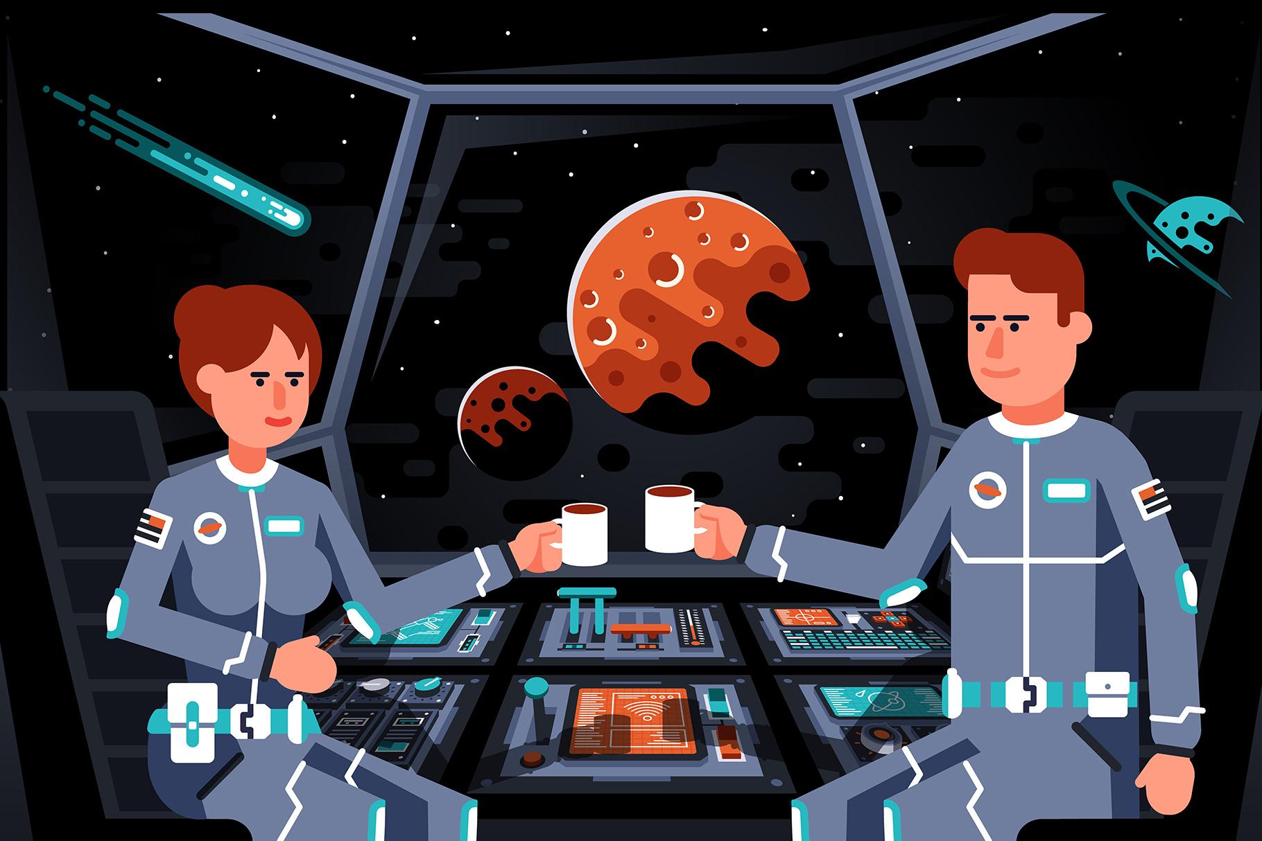 Control Panels Spaceship example image 10