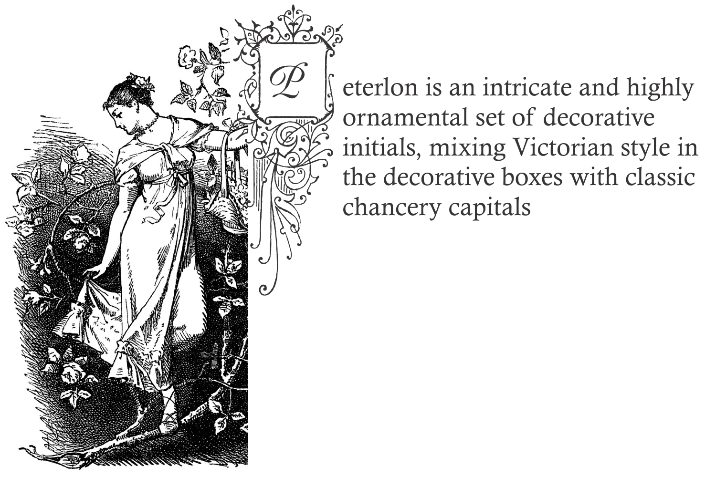 Peterlon (with bonus font) example image 1