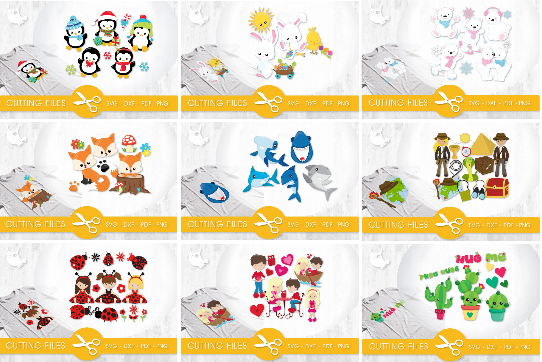 The AMAZING CRAFT BUNDLE, 1500 in 1, cutting file svg, dxf, example image 14