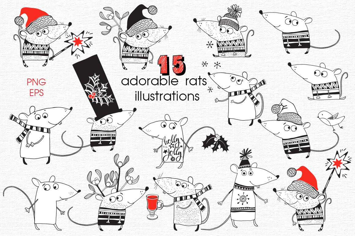 Holiday rats. example image 2