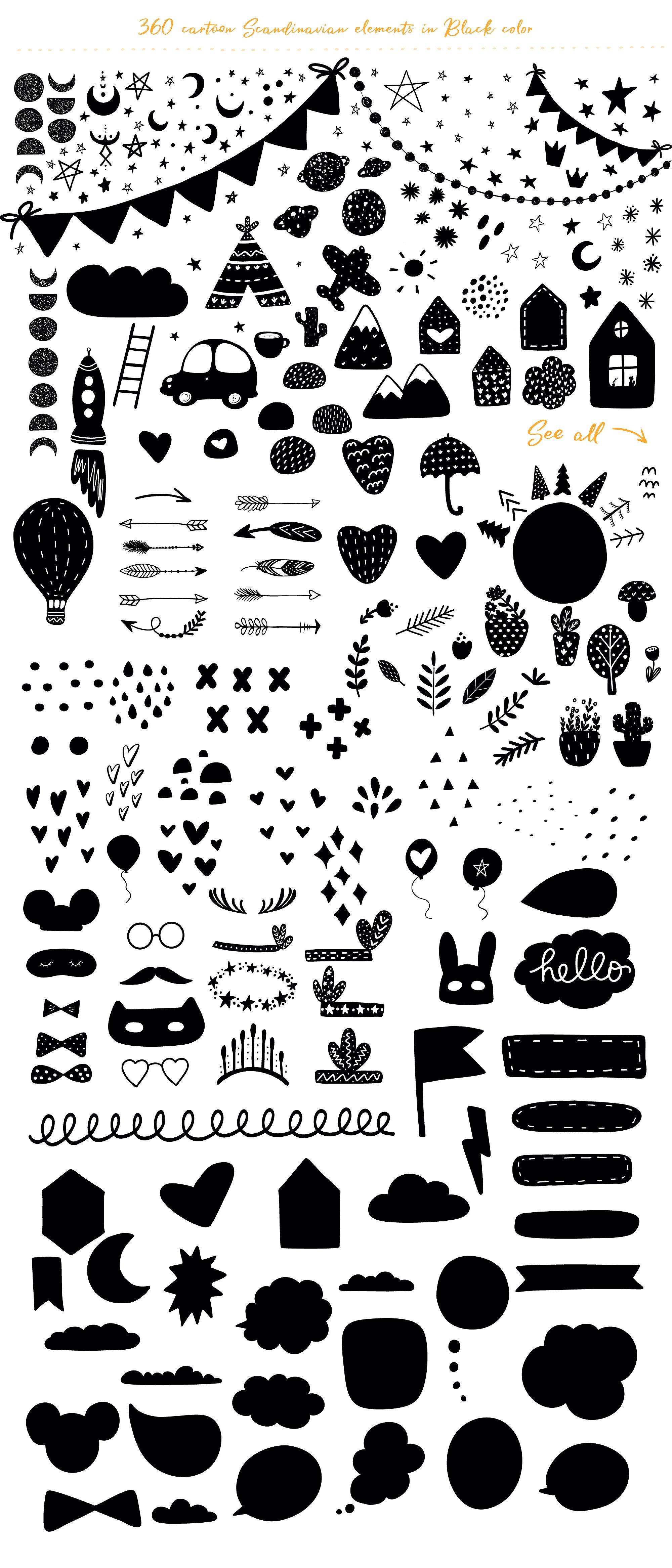 Scandinavian Monochrome for kids example image 4