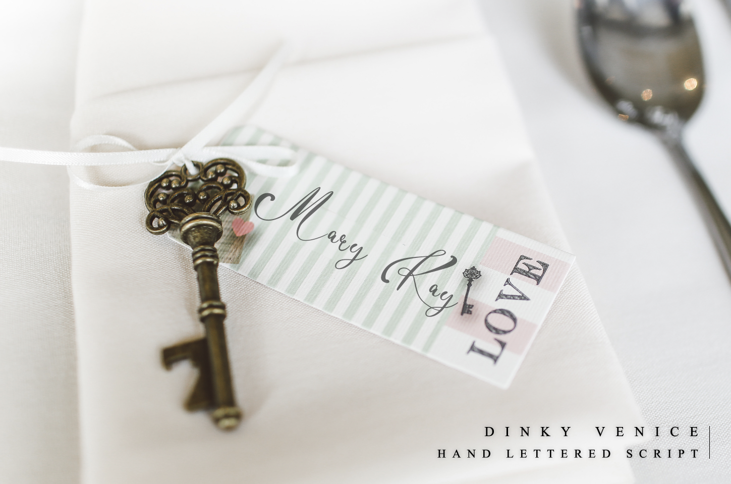Dinky Venice - Hand lettered font example image 4