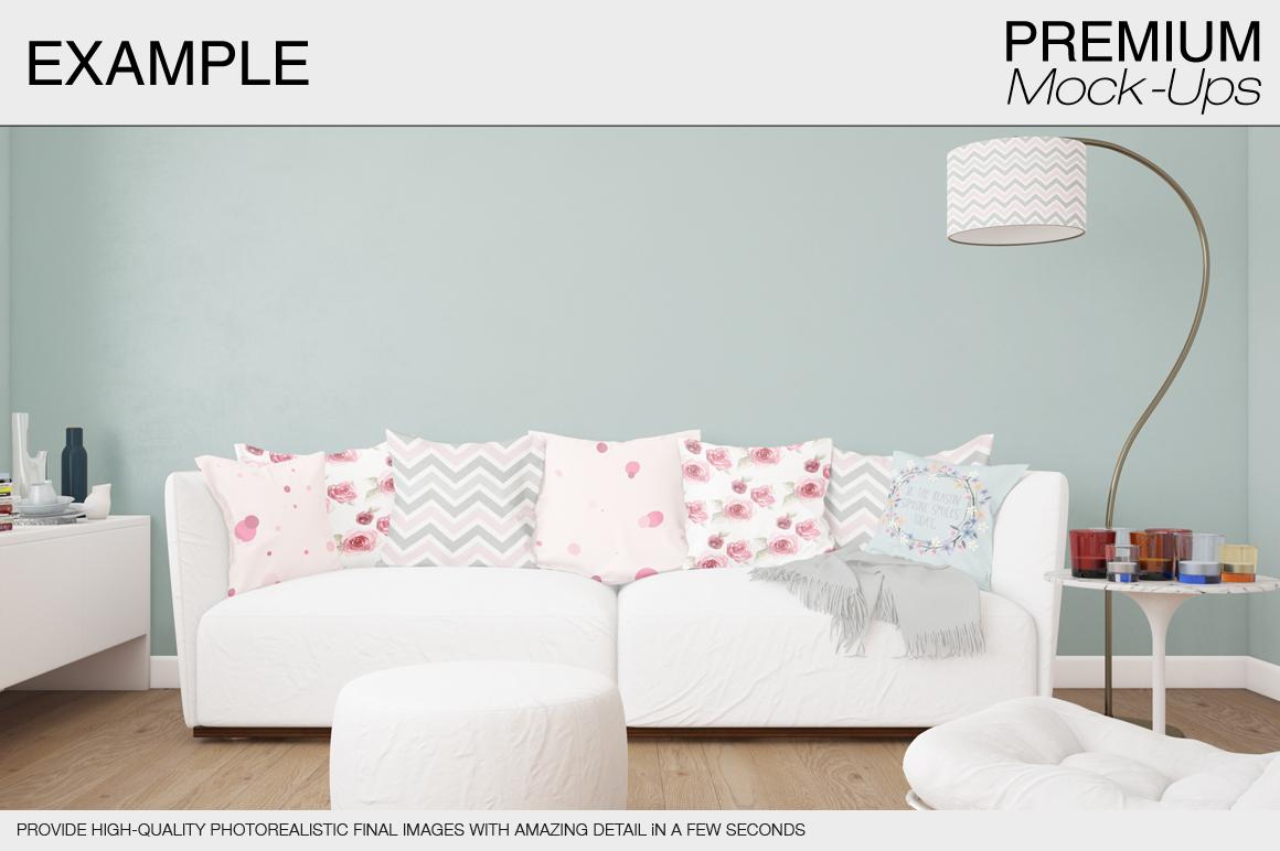 Pillow Mockup Set example image 6