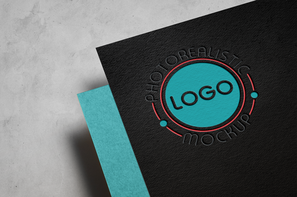 Logo Mock-Up Paper Edition example image 4