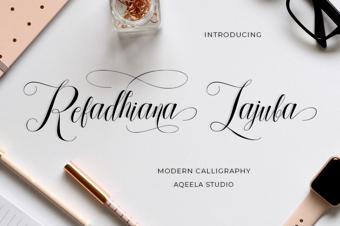 Elegant Sans & Script Font example image 10