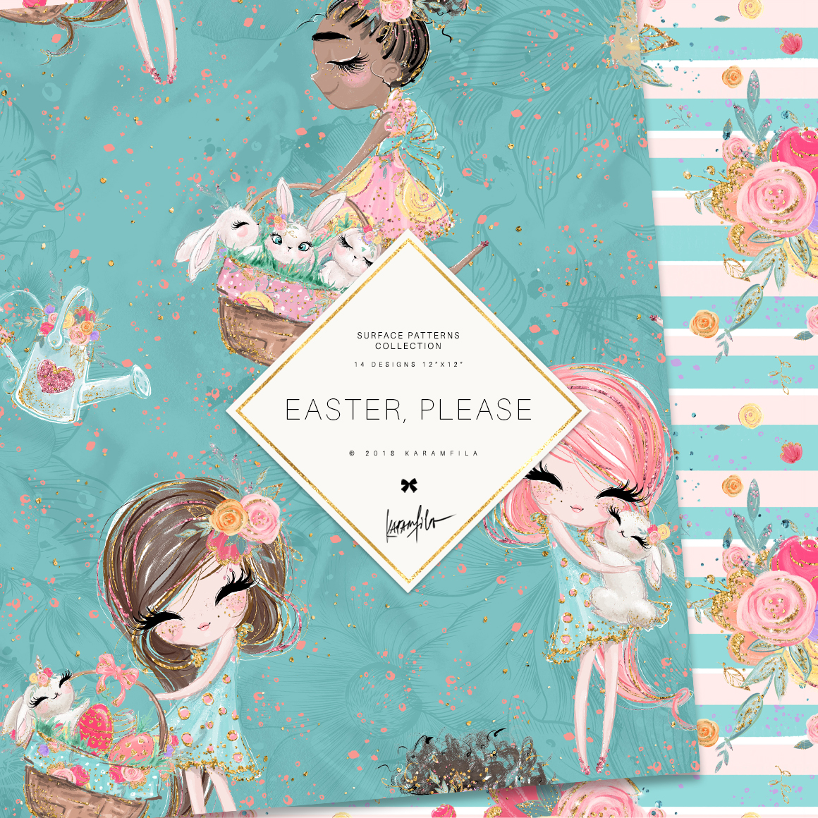 Easter Patterns example image 6