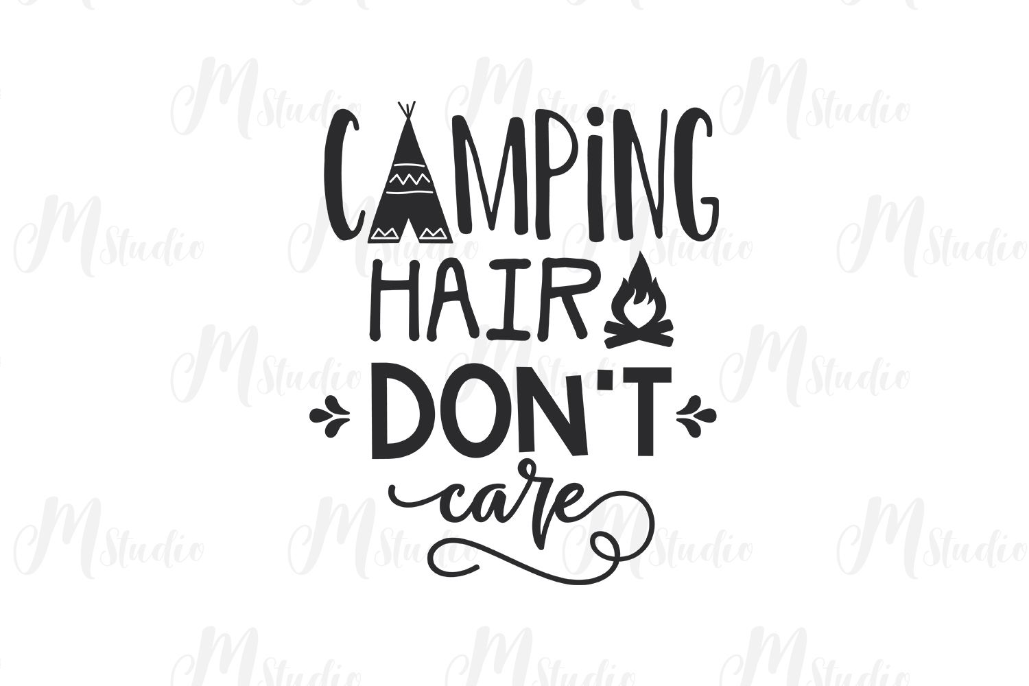 Camping SVG Bundle. example image 13