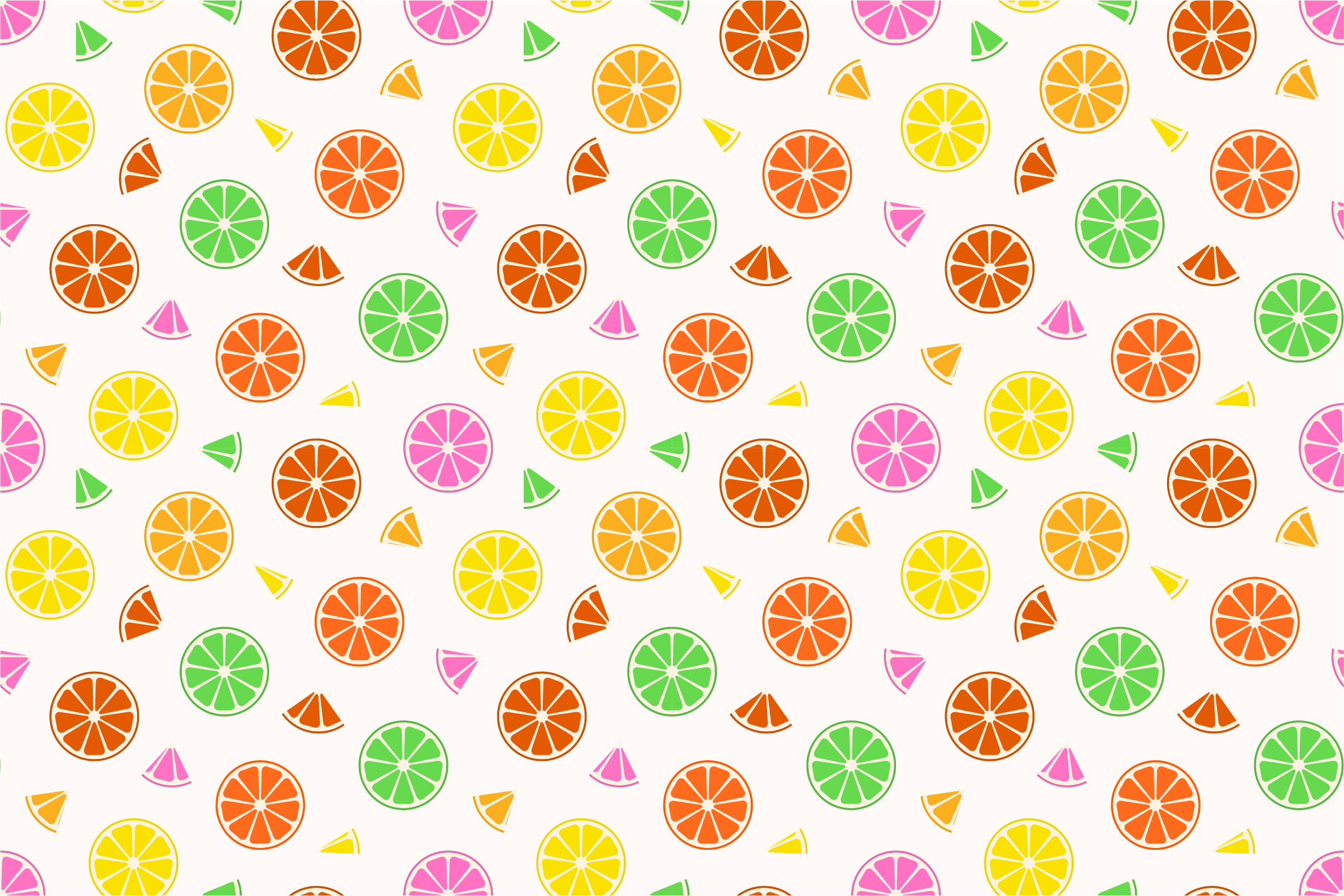 Fruit seamless patterns. Swatches. example image 4
