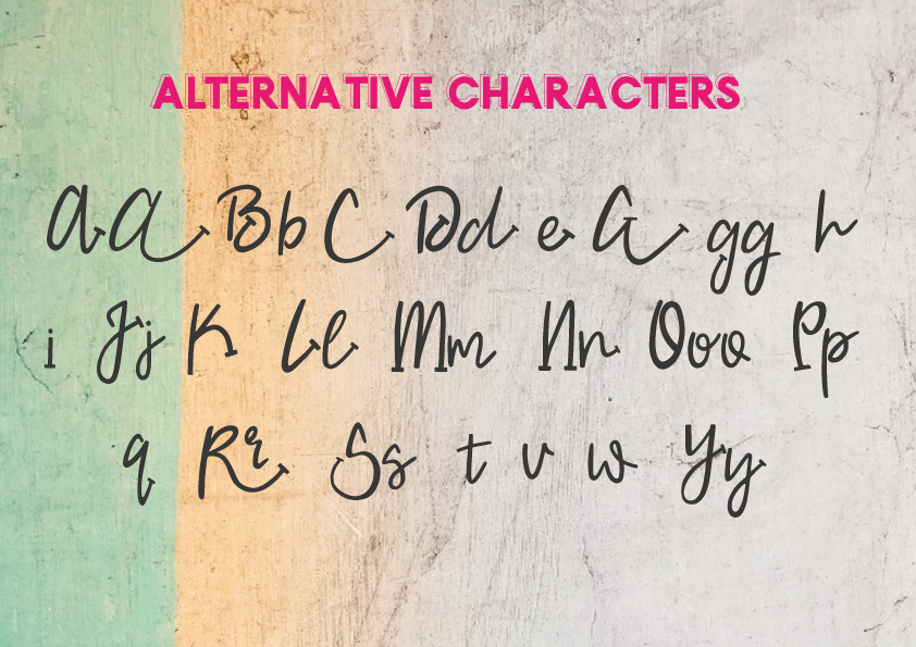 SaltRock - Beachy Script Font example image 12