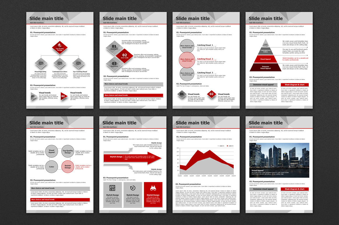 Polygon PPT Presentation Vertical example image 5