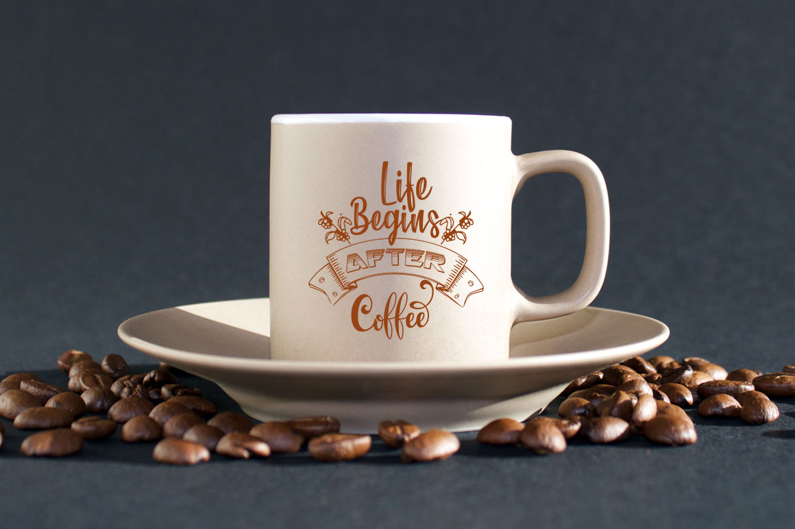 Coffee SVG one Quote 12 designs example image 10