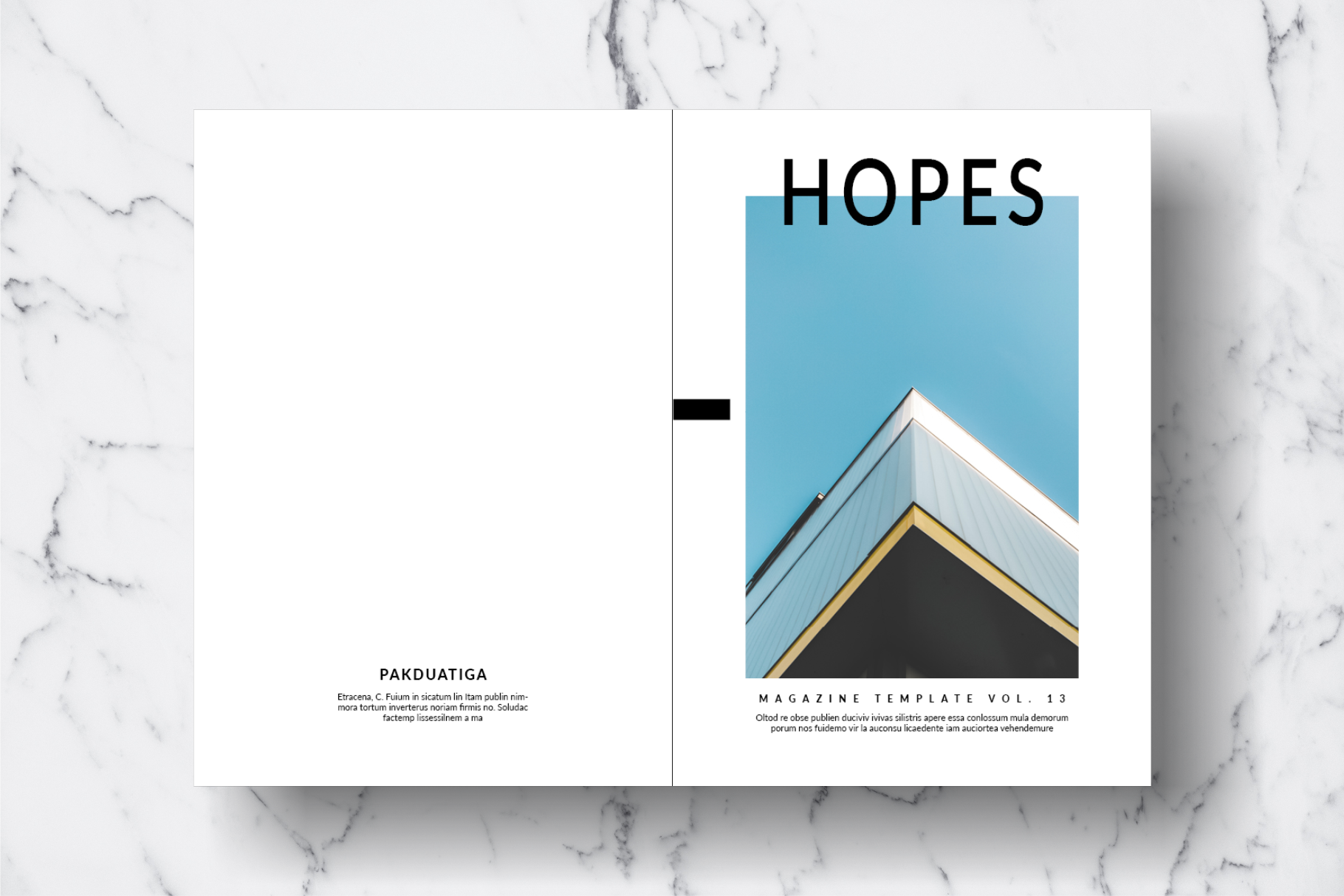 Magazine Template Vol. 13 example image 17