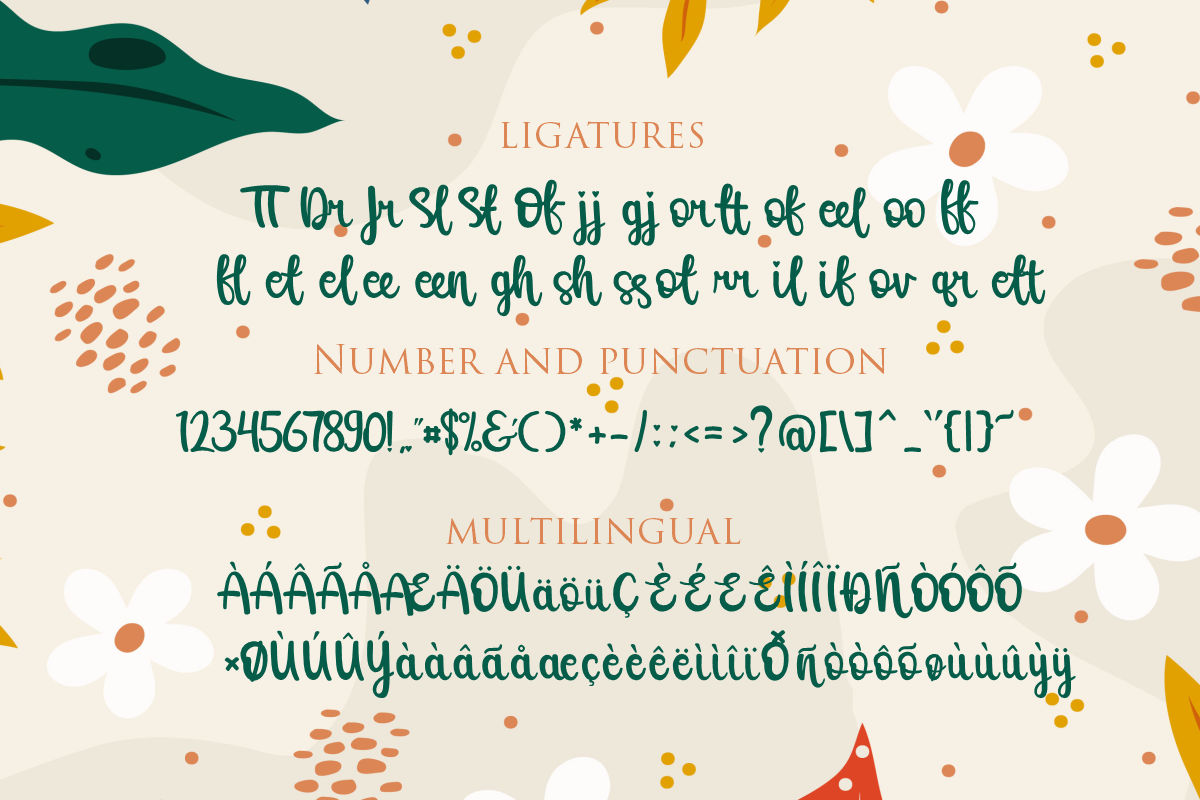 Raline | A New Calligraphy Modern Script example image 3