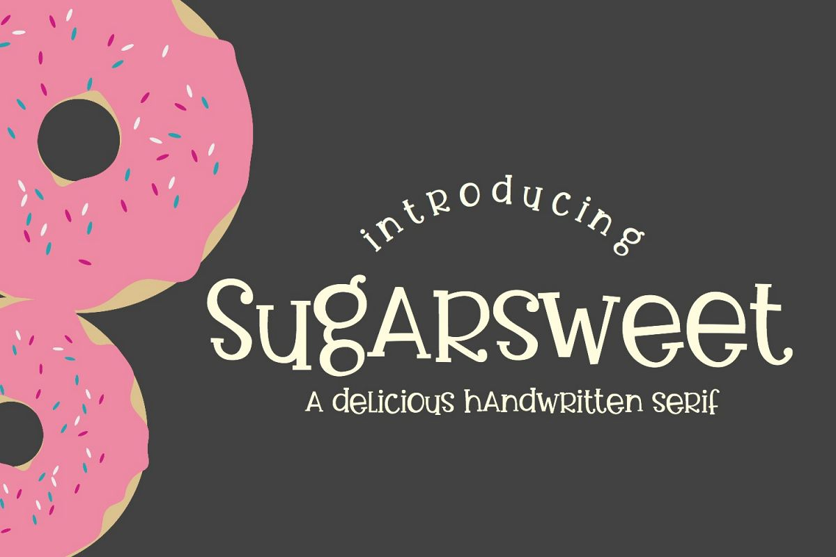 Totally Sweet Font Bundle example image 4