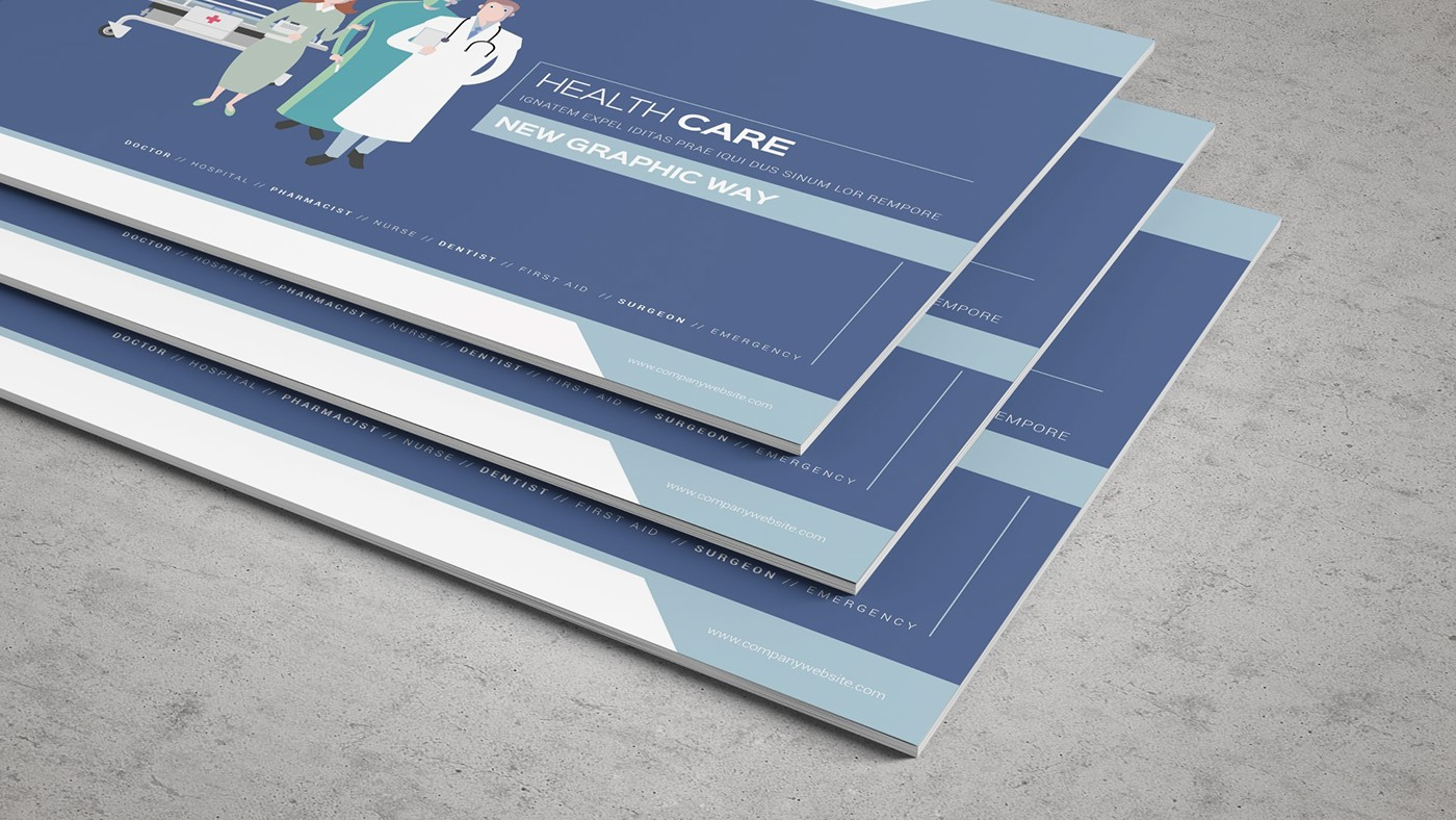 Health & Care Brochure Template example image 6