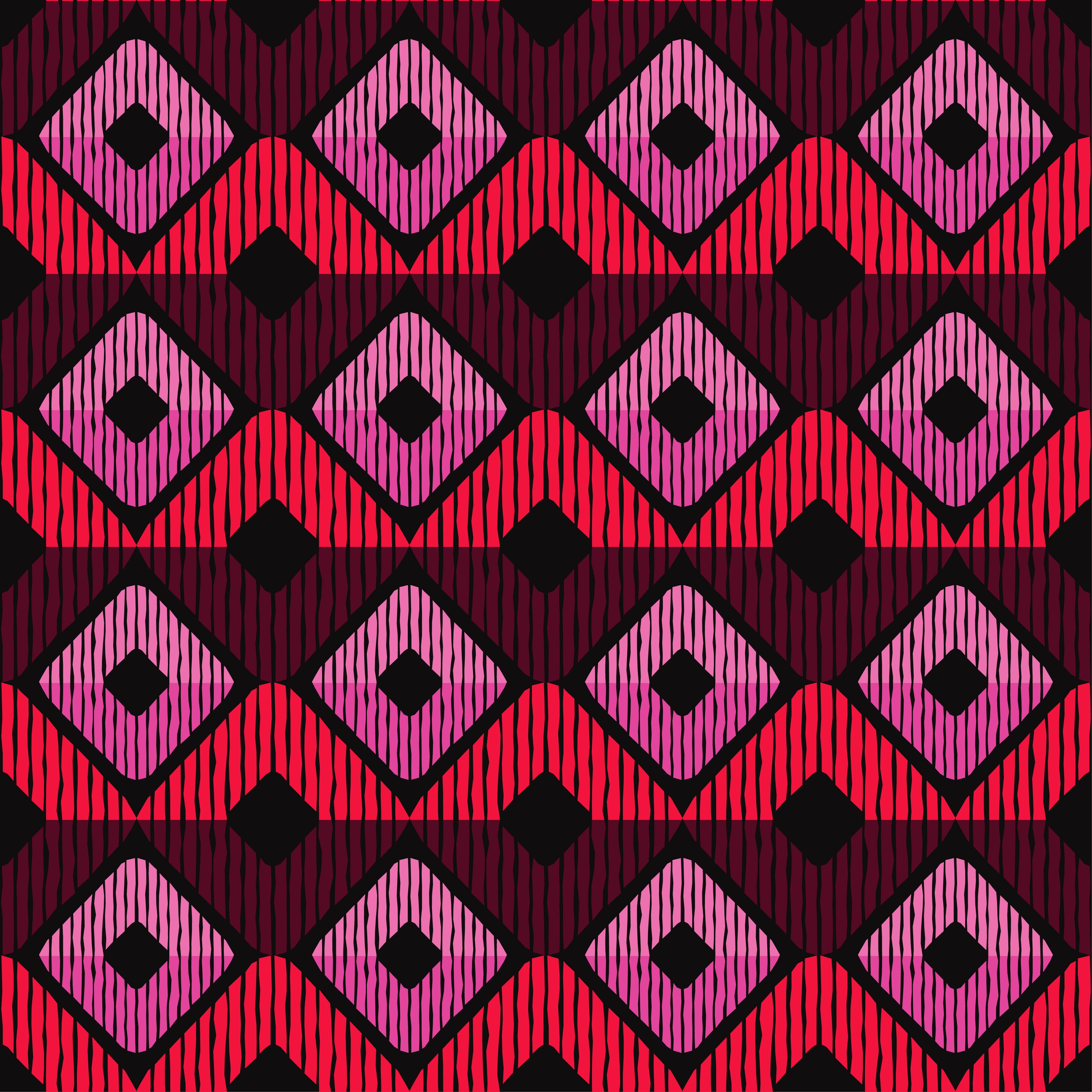 Set of 6 Ethnic boho seamless pattern. Scribble texture. Retro motif. example image 6