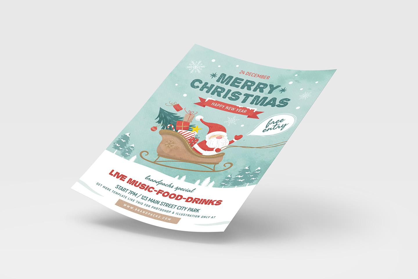 Christmas Poster example image 4
