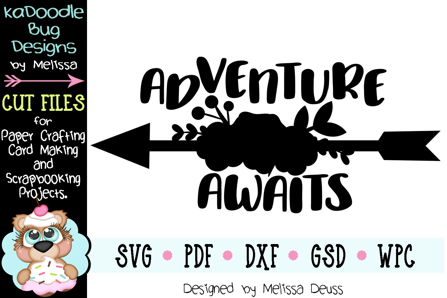 Adventure Awaits Cut File - SVG PDF DXF GSD WPC example image 2
