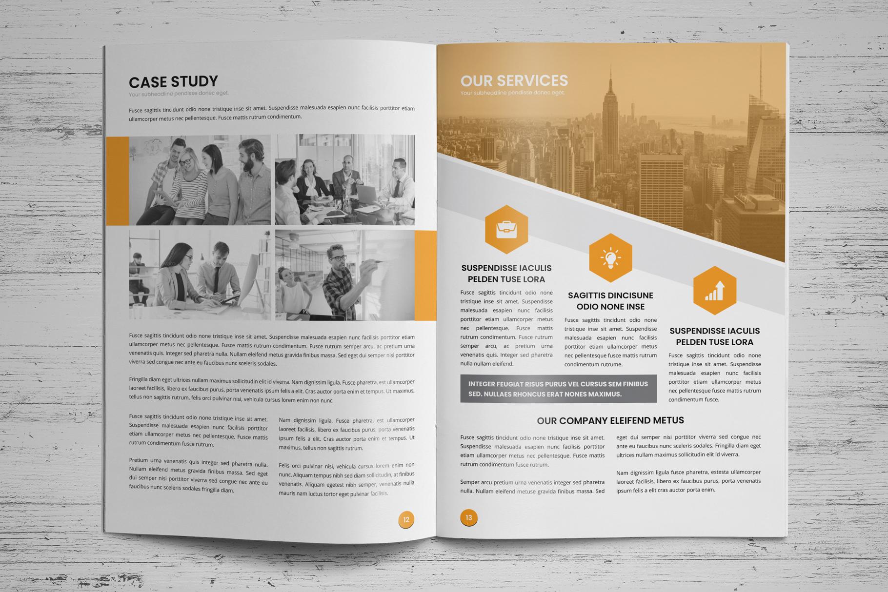Annual Report Design v6 example image 8