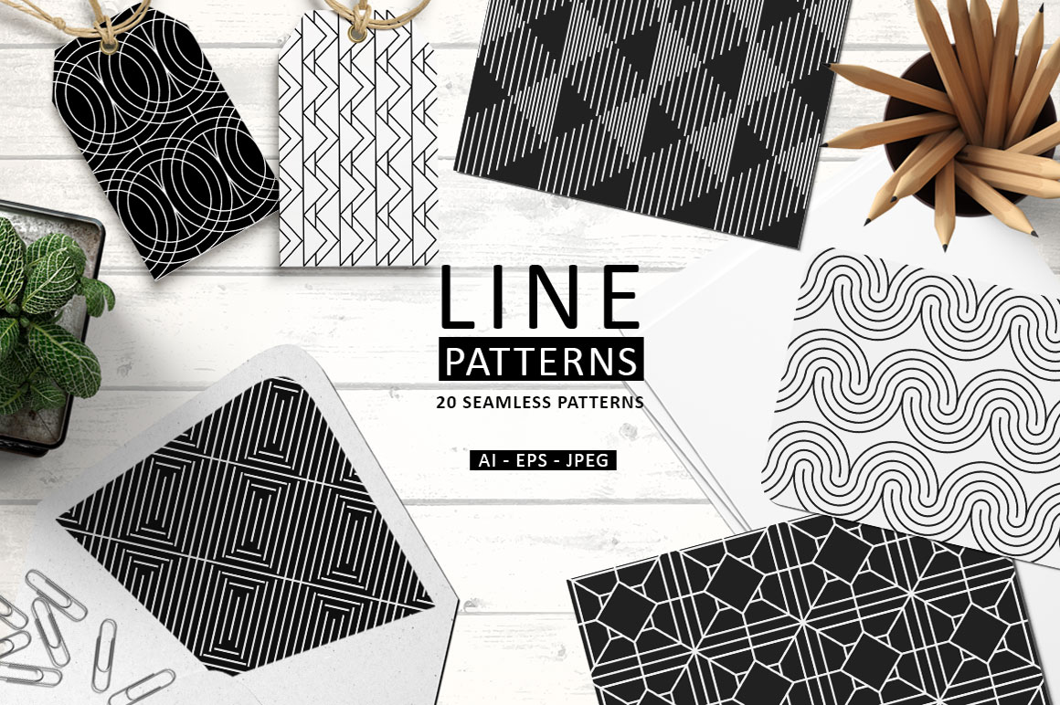 Line patterns example image 1