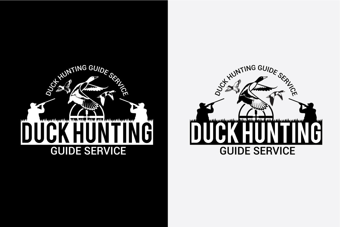 DUCK HUNTING Badges and Logo example image 4