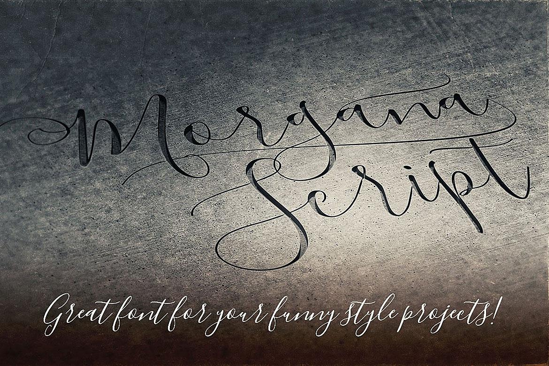 Morgana Script Font example image 4