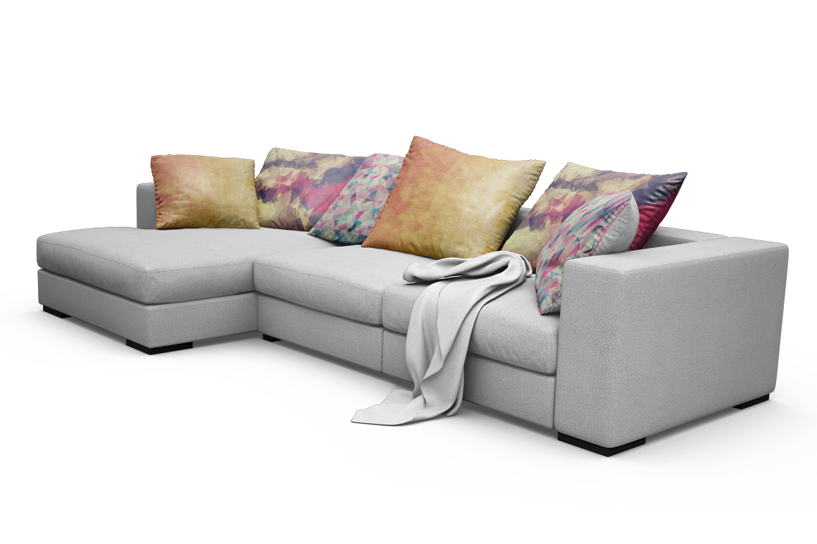 Sofa-Pillows Mockup example image 15