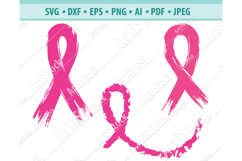 Cancer Ribbon SVG, Cancer Survivor Svg, Ribbon Dxf, Png, Eps example image 1