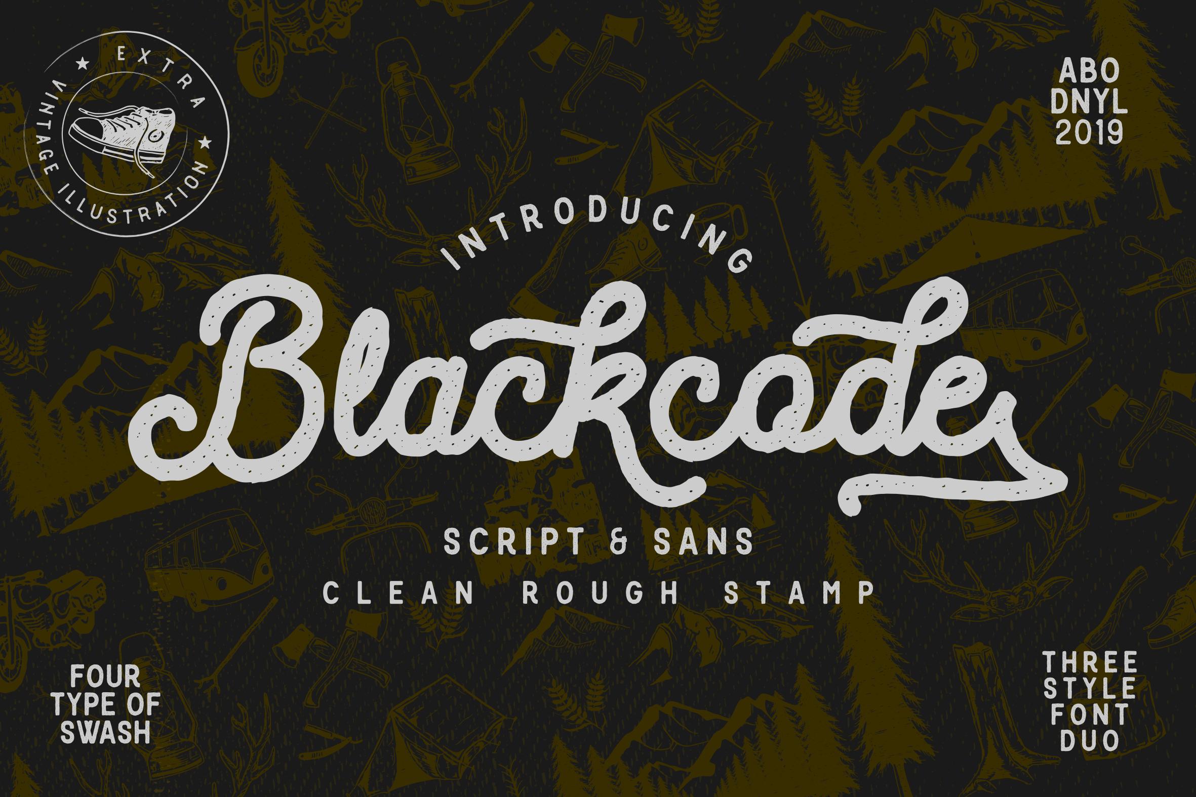 Blackcode -vintage duo- example image 1