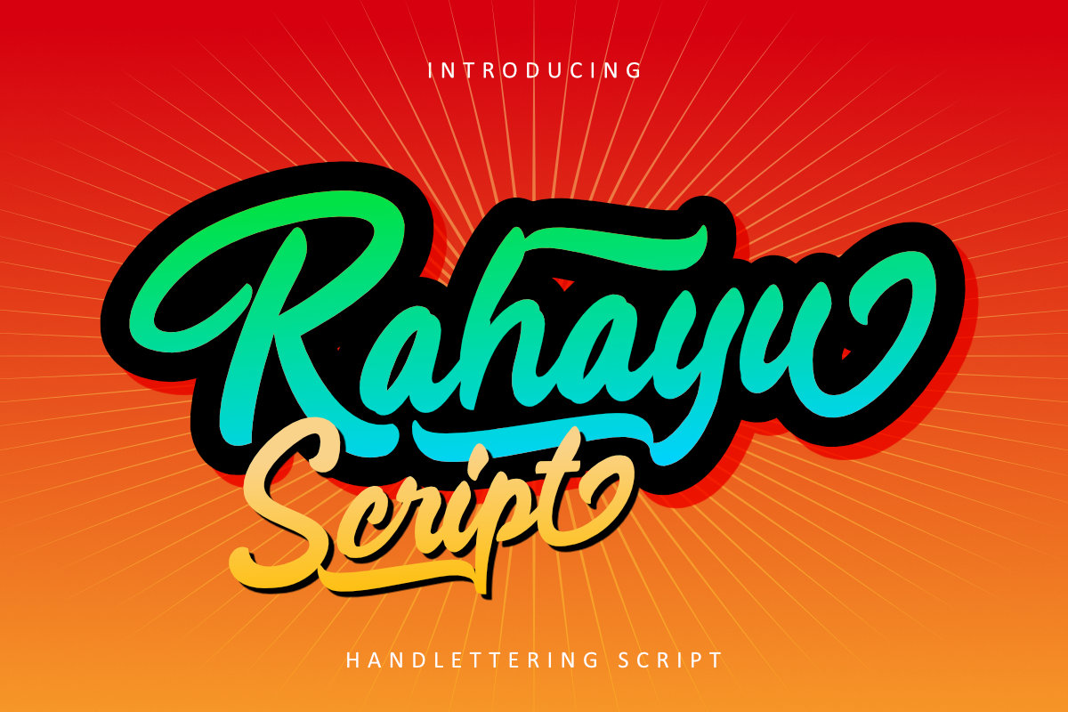 Rahayu Script example image 1