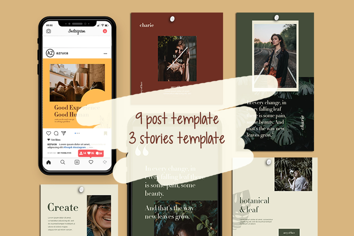 Charies Instagram Templates example image 2